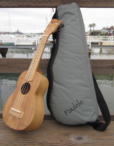 Paulele Soprano Bamboo Ukulele balboa
