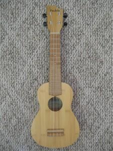 Paulele Soprano Solid Bamboo Ukulele